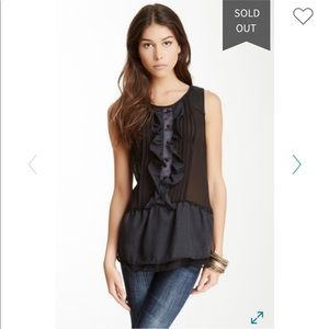 ❤️4/20 Free People Paint the Town top